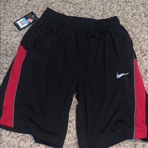 Black Nike B-ball Shorts NEW W/ TAGS!!!!